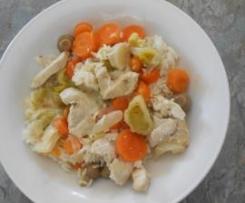 Blanquette de poulet