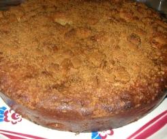 Gâteau aux pommes et spéculos