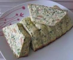 Terrine Haricots Verts et sa sauce mousseline