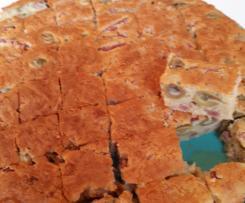 CAKE OLIVES LARDONS PORC OU VOLAILLE
