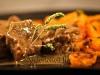 Boeuf à la marjolaine et ses carottes à la persillade