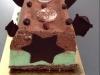 Bûche menthe chocolat