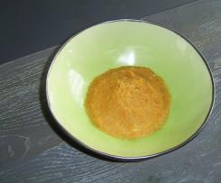 purée de panais, patate douce