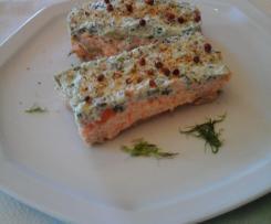 MILLE FEUILLES AVOCAT , saumon