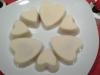 Chocolat blanc et ganache à la framboise