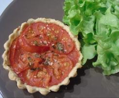 Tartelettes au Sésame - Tomates & Moutarde