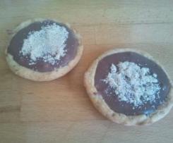 Tartelettes croustillantes au chocolat