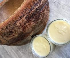 crème dessert coco