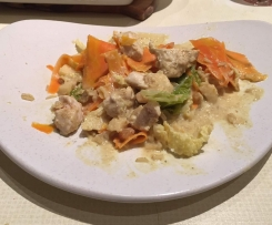 Curry de poulet façon créole
