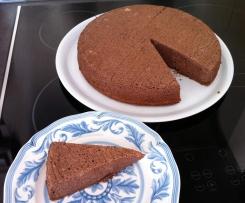 gâteau mousseux au chocolat (fromage blanc)