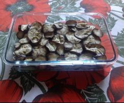 Gratin d'aubergines et harengs fumée