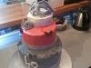 Crème au beurre / couvrir un gâteau de 20cm de diam et 8 cm de hauteur
