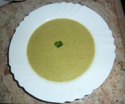 Potage de brocolis et pomme de terre