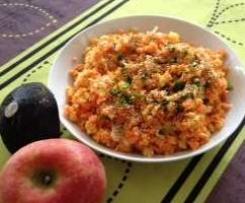 salade vitaminée : carotte, radis noir et pomme granny