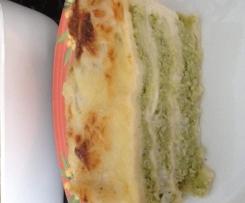 Lasagnes poulet brocoli