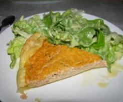 tarte au thon/tomate