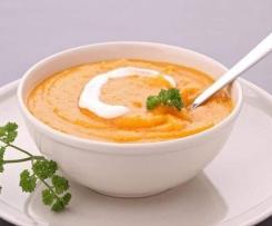 Soupe / purée aux légumes