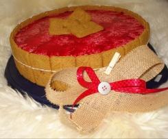 Bavarois Choco Framboise, Biscuit Spéculos