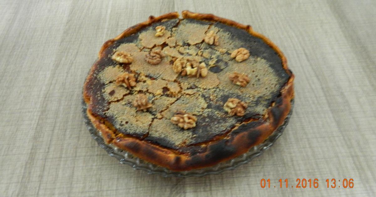 tarte sucr e au potimarron pommes et noix par clara64 une recette de fan retrouver dans la. Black Bedroom Furniture Sets. Home Design Ideas