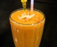 Crème à la Mangue façon Milk-Shake