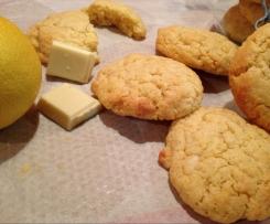 Cookie chocoblanc et citron