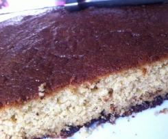Gâteau au lait ribot et pépites de chocolat