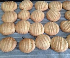 Biscuit au beurre vanille citron vert