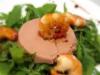 Salade aux écrevisses et foie gras