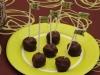 Cake pops Shrek :  madeleines et nutella