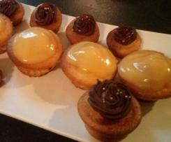 Cupcakes citron et crème de citron