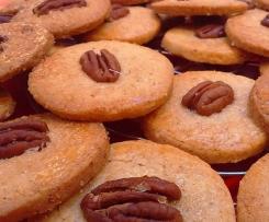 Biscuits sirop d'érable et noix de pecan