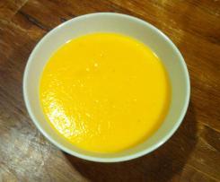 velouté carottes courgettes
