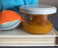 Compote abricot bébé
