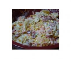 Salade de pâtes crémeuses