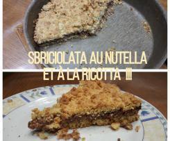 Sbriciolata au Nutella et à la Ricotta