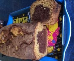 Quatre quart breton marbré au chocolat