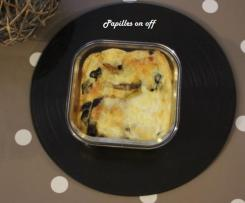 Quiche sans pâte aux légumes grillés et mozzarella