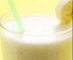 Milk Shake Banane (sans sucre ajouté)
