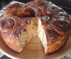 Gâteau chinois façon alsacienne (Schneckekueche)