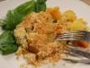 Crumble Courges Butternut Pommes de terre et Poulet