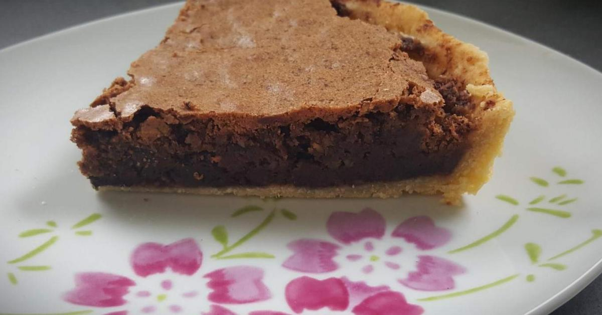 tarte chocolat noix de p can par une recette de fan retrouver dans la cat gorie. Black Bedroom Furniture Sets. Home Design Ideas