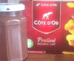 Pâte à tartiner chocolat-noisettes pour les belges