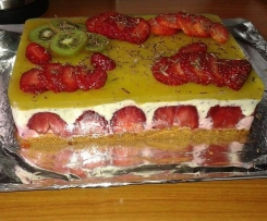 bavarois fraise kiwi