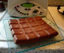 Fondant au chocolat ( adapté d'une recette pour le moule tablette Flex.... de Guy De.....)