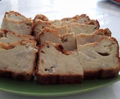Cake au chou-fleur et au roquefort