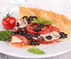 tarte tomates cantal olives