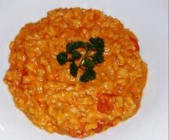 Risotto au concentré de tomate (riz rouge de ma grand mère italienne)