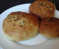 Variante pain hamburger moelleux