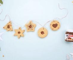 les fameux biscuits de Noël Nutella