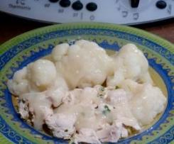 Escalopes de poulet sauce citron
